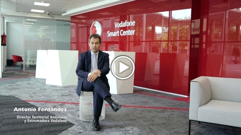 Antonio Fernández, director territorial Andalucía y Extremadura de Vodafone